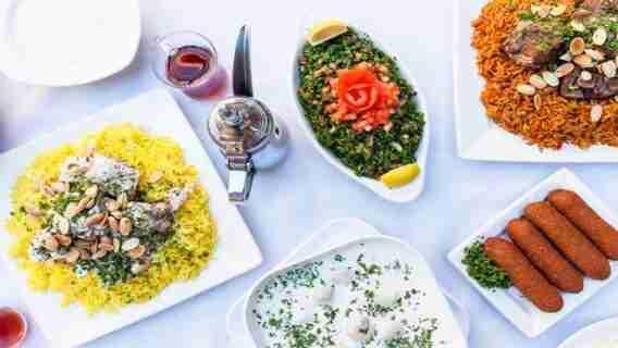 Greek Food Considered Middle Eastern