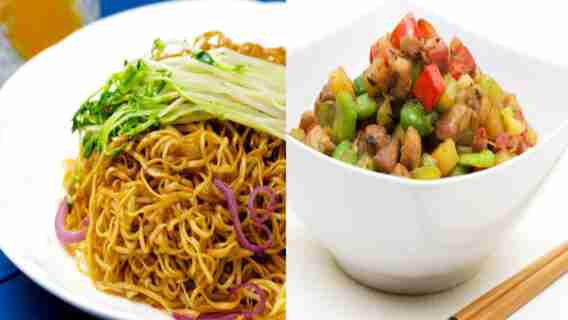 The Difference Between Chow Mien And Chop Sue