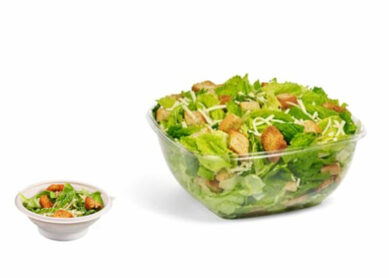 Are there salads with calories or less at Wawa?