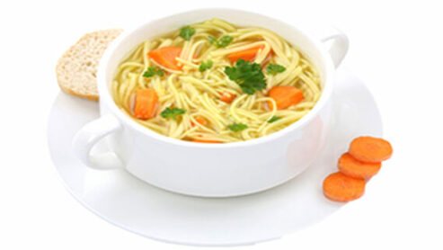 Does McDonald's have chicken noodle soup?