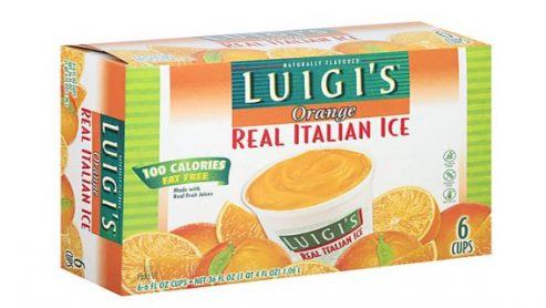 Is Luigi Natural Italian Ice Healthy?