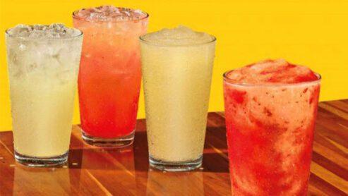 Popeyes frozen strawberry lemonade calories: