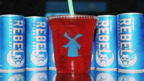 Sugar-Free Rebel Dutch Bros Rebel Energy