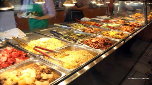 The Rainbow of Popular Chinese Food