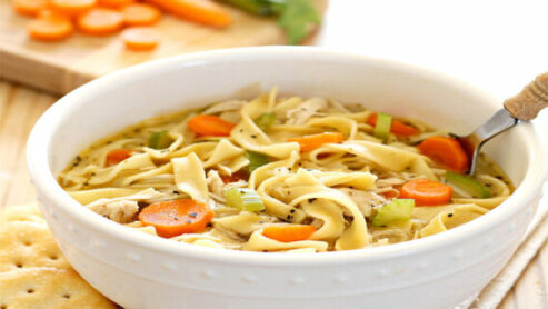 Where to get chicken noodle soup fast food?