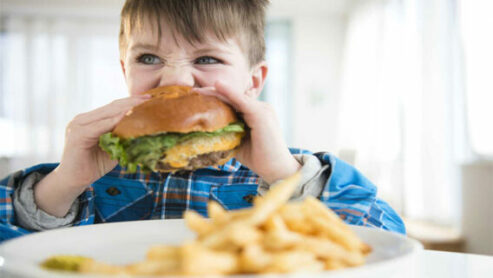 Why should schools not serve fast food?